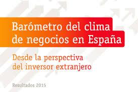 Barómetro del clima de negocios en España - Informe